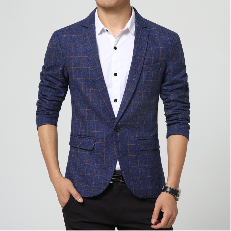 Aliexpress.com : Buy Men Casual Blazer Nice Spring Mens Suits ...