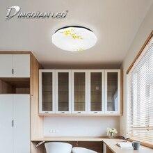 DINGDIAN LED AC220V Ceiling Light Modern Pattern 24W Living Room Decoration Dust proof Cold White Lamp Indoor LED Light Fixture