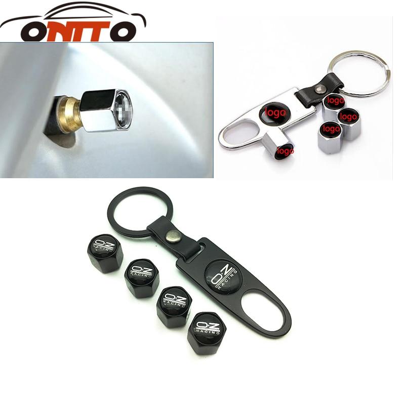 4Pcs/Set Tire Valve Caps Covers oz racing Dust Cover Wheel Tyre Air Valve Caps Tire Accessories