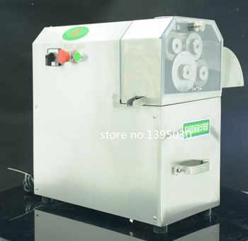 3 rouleaux/4 rouleaux (peut choisir) acier inoxydable électrique canne à sucre presse-agrumes Machine canne à sucre presse-agrumes 1 ensemble