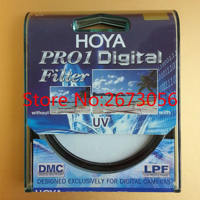HOYA PRO1 Digital Filter UV 58 mm Low Profile Frame Pro 1 D MC Multicoat For Pentax Canon Nikon Sony Olympus Leica Camera Lens
