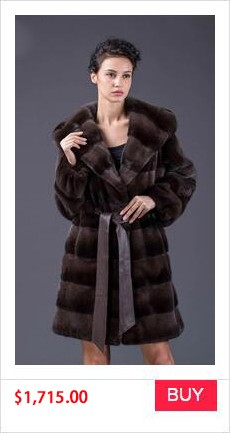 REAL MINK FUR COAT WINTER WOMEN COAT (1)