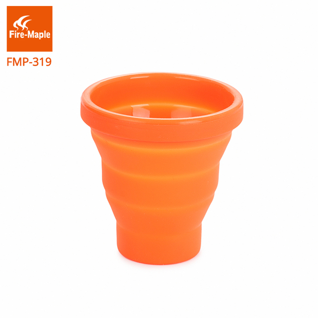Fire Maple Folding CupOutdoor Camping Collapsible Traveling Mug Silicon Portable Tableware Bottle Tableware For Trekking FMP-319