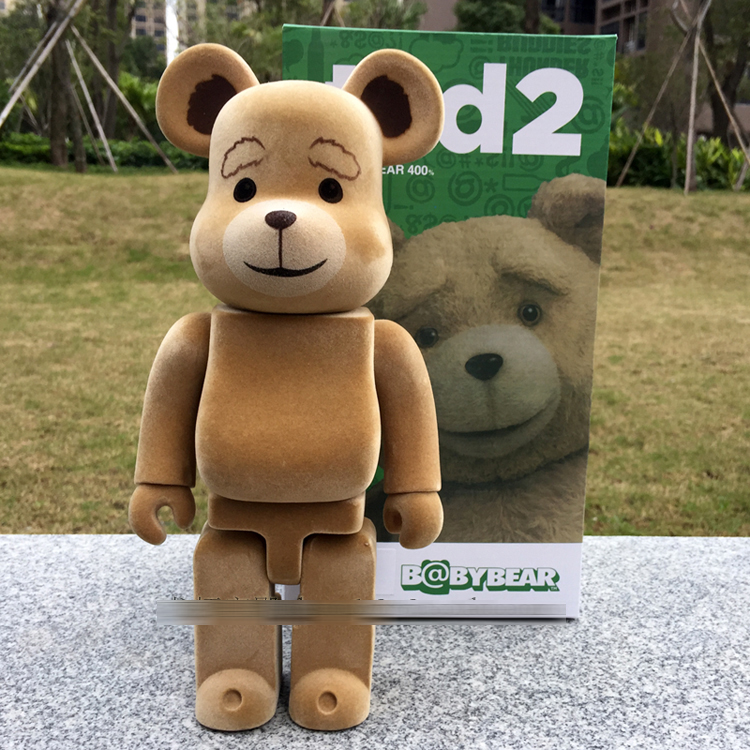 400% bearbrick Bear@brick Ted2 Bear Model Art Figure as a gift for boyfriends ,girlfriends and students new arrival be rbrick bear bearbrick pvc action figure toy 52cm vinyl art figure as a gift for boyfriends