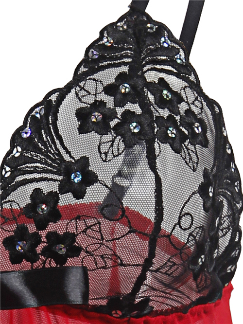 2017 Women Sexy Lingerie Corset With G-string 2 Piece Set Dress Underwear Sleepwear Free shipping