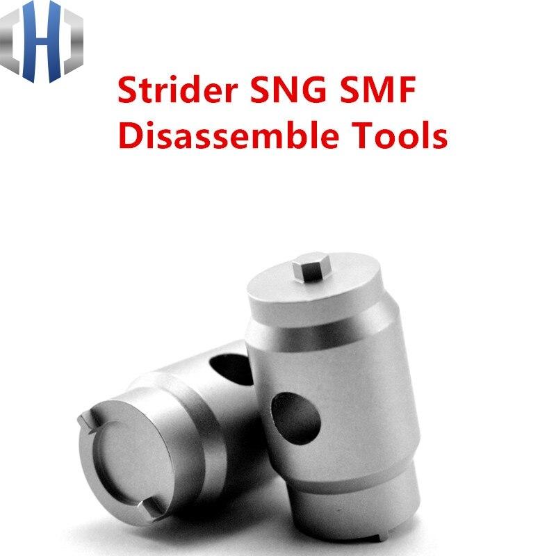Strider SMF SNG ST Desmontagem Ferramenta Threader Ferramenta de Desmontagem Chave De Fenda EDC Aço Inoxidável Faca Ferramenta de Remoção