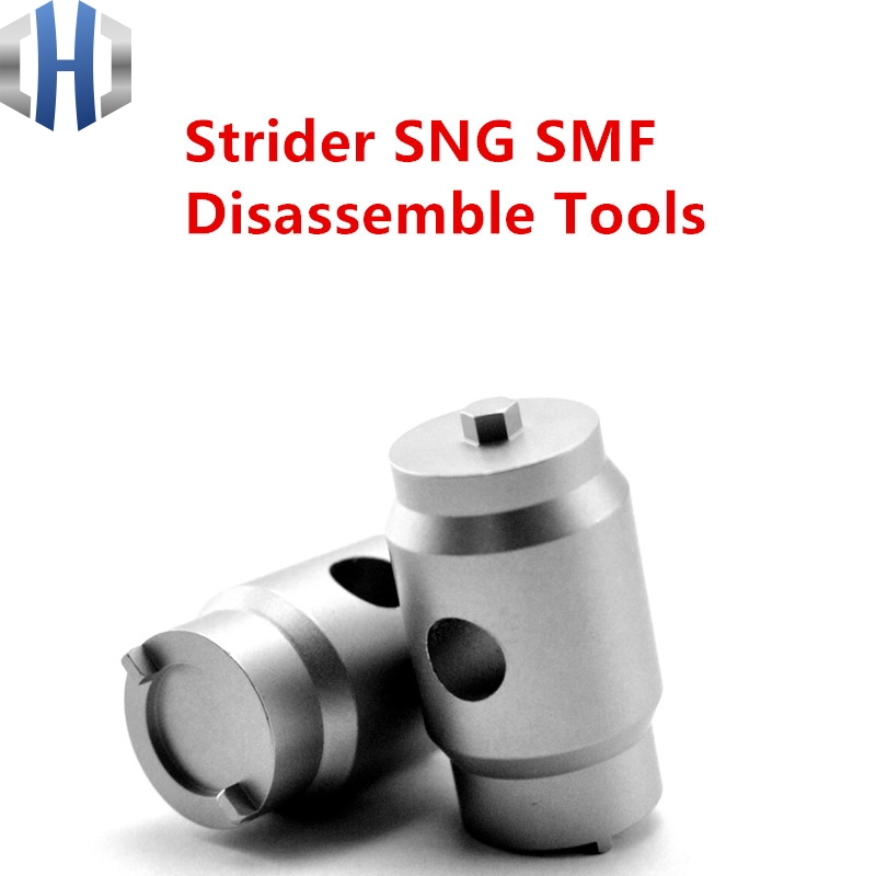 Strider SNG SMF Disassembly Tool ST Disassembly Tool Threader Screwdriver Wrench Stainless Steel EDC Knife  Removal ToolStrider SNG SMF Disassembly Tool ST Disassembly Tool Threader Screwdriver Wrench Stainless Steel EDC Knife  Removal Tool