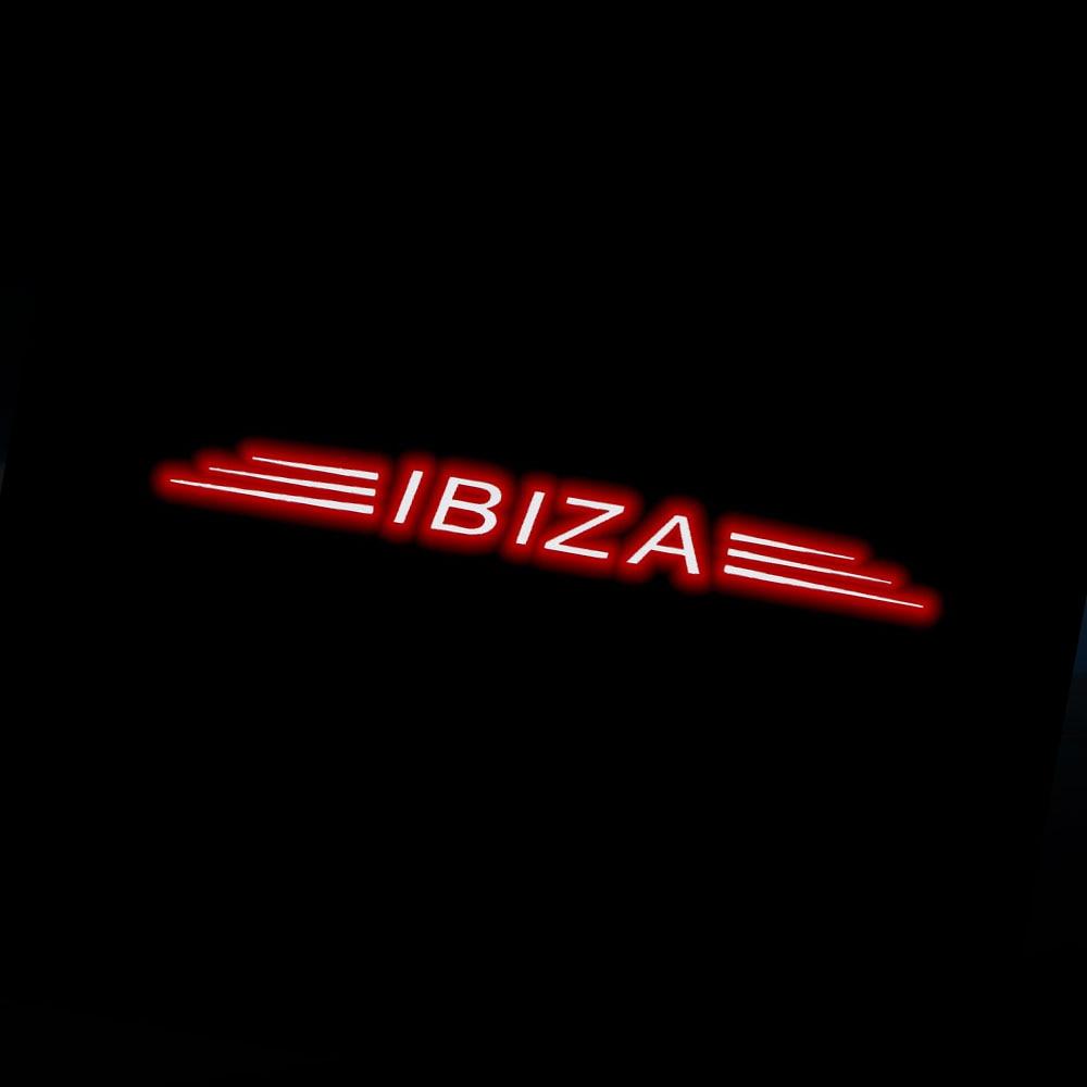 Car Black Carbon Fiber High Brake Light Stickers Decoration Sticker Fit For 09-14 Seat Leon 2 3 FR Ibiza 6j 6p Cupra Accessories