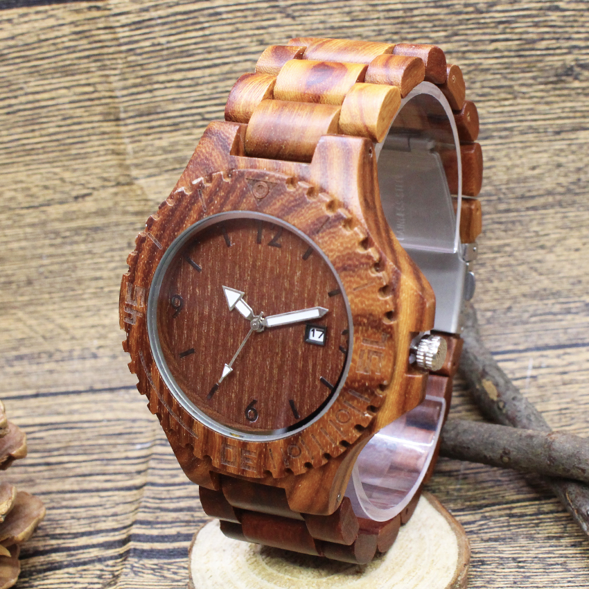 2018 Men Hot Bamboo Wood Case Women Leather Band Strap Wrist Watch Trendy New arrival Nature men women Quartz watch new design new arrival bamboo men wristwatch classic arabic number dial genuine leather band strap trendy gift quartz watch
