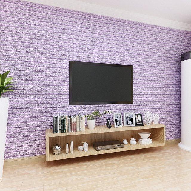 Online Shop New 60x60 cm PE Foam 3D Decorazione Adesivi Murali Della ...