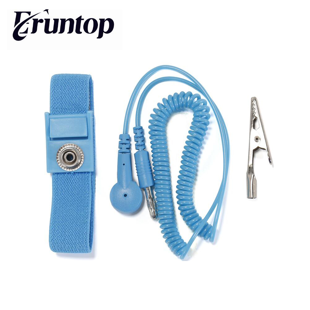 1PCS Anti-Static Wrist Strap Electrostatic Discharge Ground Wire Mat For Phone Repair
