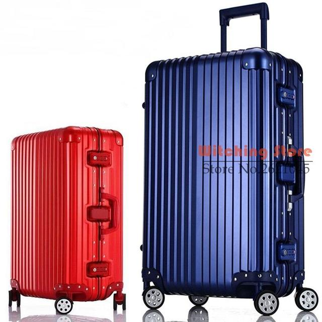 26 INCH  20242629# On the with a suitcase trunk aluminum frame 20 24/29 boarding and check box #EC FREE SHIPPING