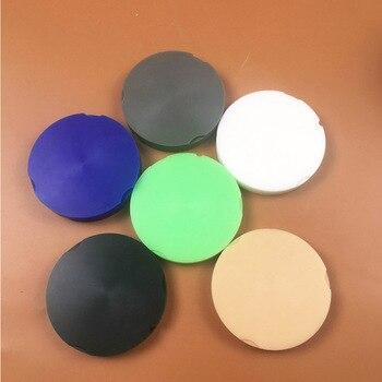 6pcs OD95*12mm Dental lab wax pucks wax blanks for ZirkonZahn CAD CAM Milling System 6 colors Dental lab materials