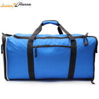 Big Capacity Travel Bags for Men Canvas Suitcase Folding Bag Multi Function Male Travel Weekend Bag Casual Handmade Duffle Bags