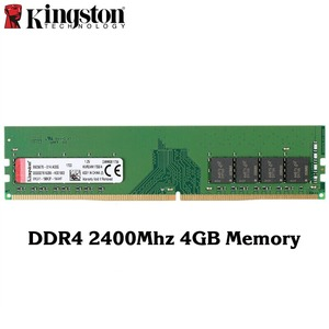 Image 1 - Kingston Original DDR4 2400 Mhz 4 GB 8 GB Speicher Intel Gaming Speicher RAM PC Speicher hohe Geschwindigkeit RAMS Für desktop Memory Sticks 1 PCS
