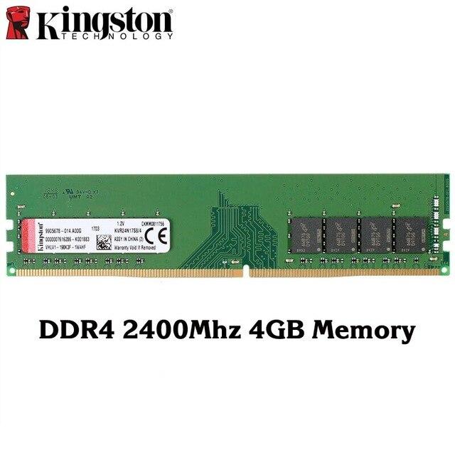 Kingston Original DDR4 2400 Mhz 4 GB 8 GB Speicher Intel Gaming Speicher RAM PC Speicher hohe Geschwindigkeit RAMS Für desktop Memory Sticks 1 PCS