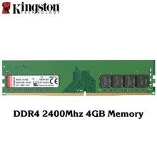 Kingston oryginalne DDR4 2400 Mhz 4 GB 8 GB pamięci Intel Gaming pamięci RAM PC pamięci high Speed RAMS dla pulpit pamięci kije 1 szt