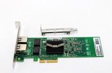 Gigabit Ext 2พอร์ตPCI-E x4อีเธอร์เน็ตอะแดปเตอร์เซิร์ฟเวอร์บัตรชิปเซ็ตสำหรับIntel 82576
