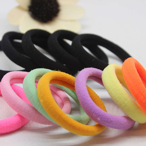 wholesale 20 Pcs/LOT hair accessories FOR girls and kids RUBBER BANDS BLACK color 2018 The ponytail holder Elastic Hair Bands