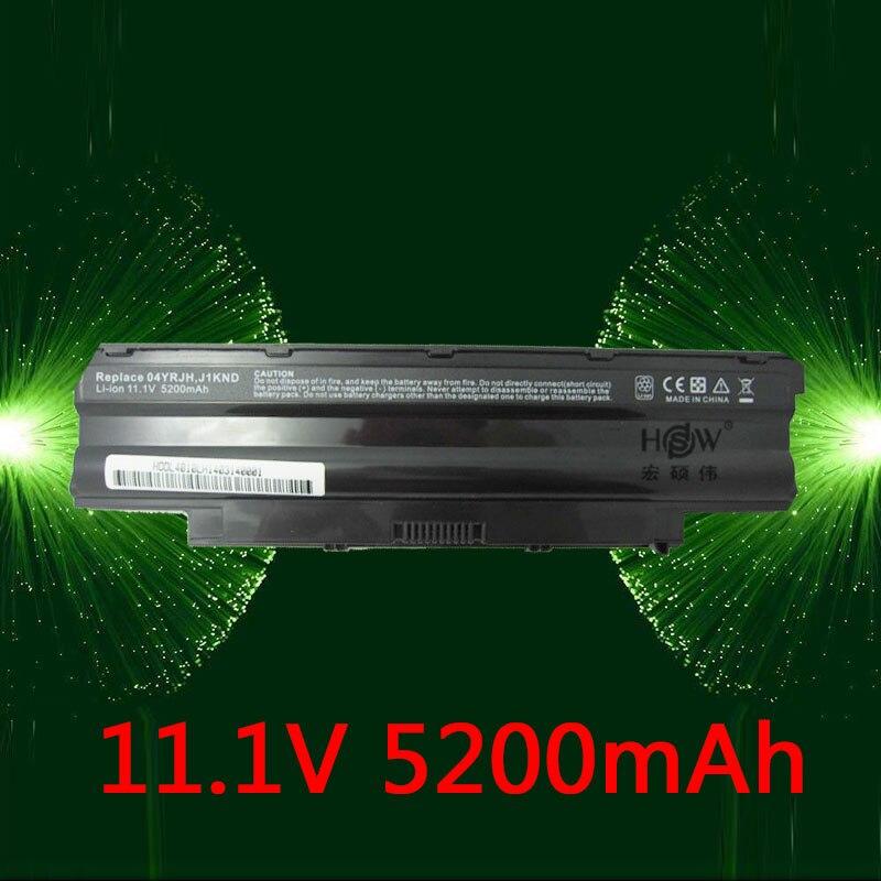 HSW מחשב נייד סוללה עבור DELL לinspiron 13R 14R 15R 17R M411R M501 M5010 N3010 N3110 N4010 N4110 N5010 N5030 n5110 N7010 N7110