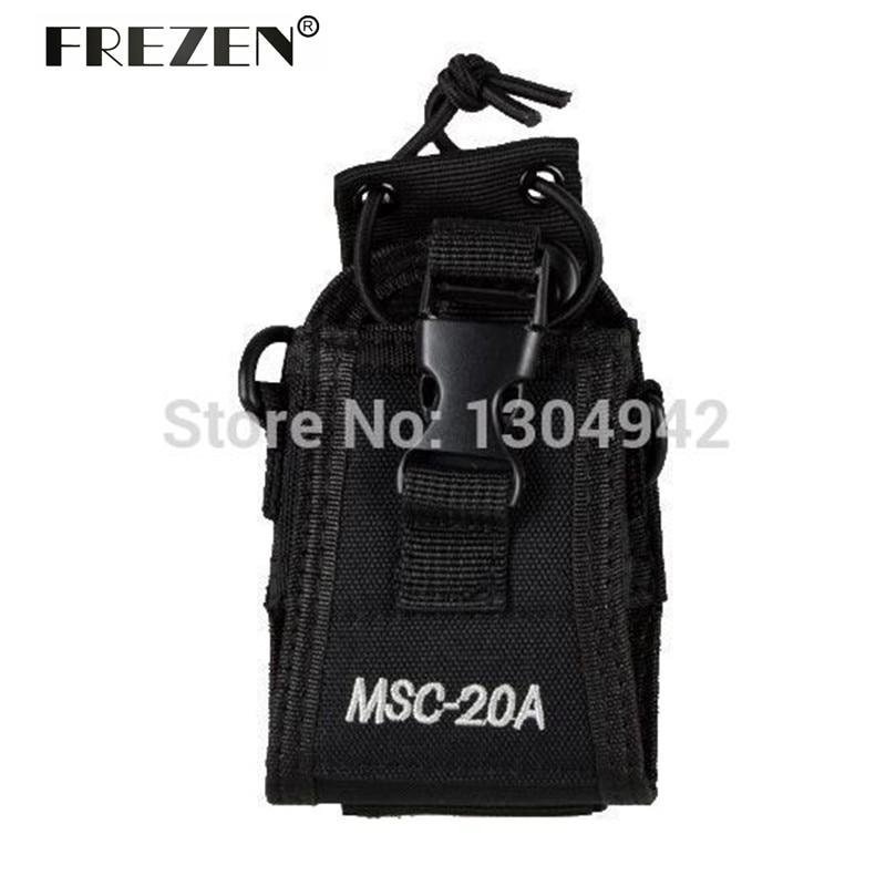 Radio Holder MSC-20A/C/D Pouch Case Accessories For Yaesu I-com Kenwood Walkie Talkie Two Way Radio BAOFENG UV-5R UV82 UV8D GT-3