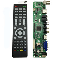 Free Shipping V59 Universal LCD TV Controller Driver Board PC VGA HDMI USB Interface