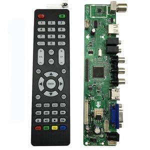 Image 1 - V56 Universal LCD TV Controller Driver Board PC/VGA/HDMI/USB Interface