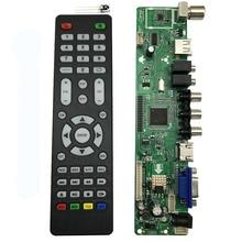 V56 uniwersalny pilot do telewizora LCD płyta sterownicza interfejs PC/VGA/HDMI/USB