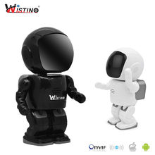 Wistino Hd 1080P Cctv Draadloze Ip Camera Ptz Wifi Robot Camera Nachtzicht Surveillance Smart Home Video Babyfoon indoor(China)