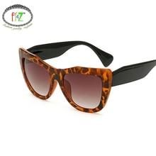 dbbb57262d F.J4Z Fancy Retro Cat Eye Sunglasses Hot Fashion Cool Eye Wear Good Quality  Plastic Frame Shades Glasses For Women Outdoor