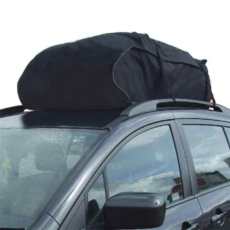 VORCOOL Tejadilho Do Carro Top Transportadora de Carga Saco de Rack Saco de Armazenamento de Bagagem de Viagem À Prova D' Água para o Carro Universal