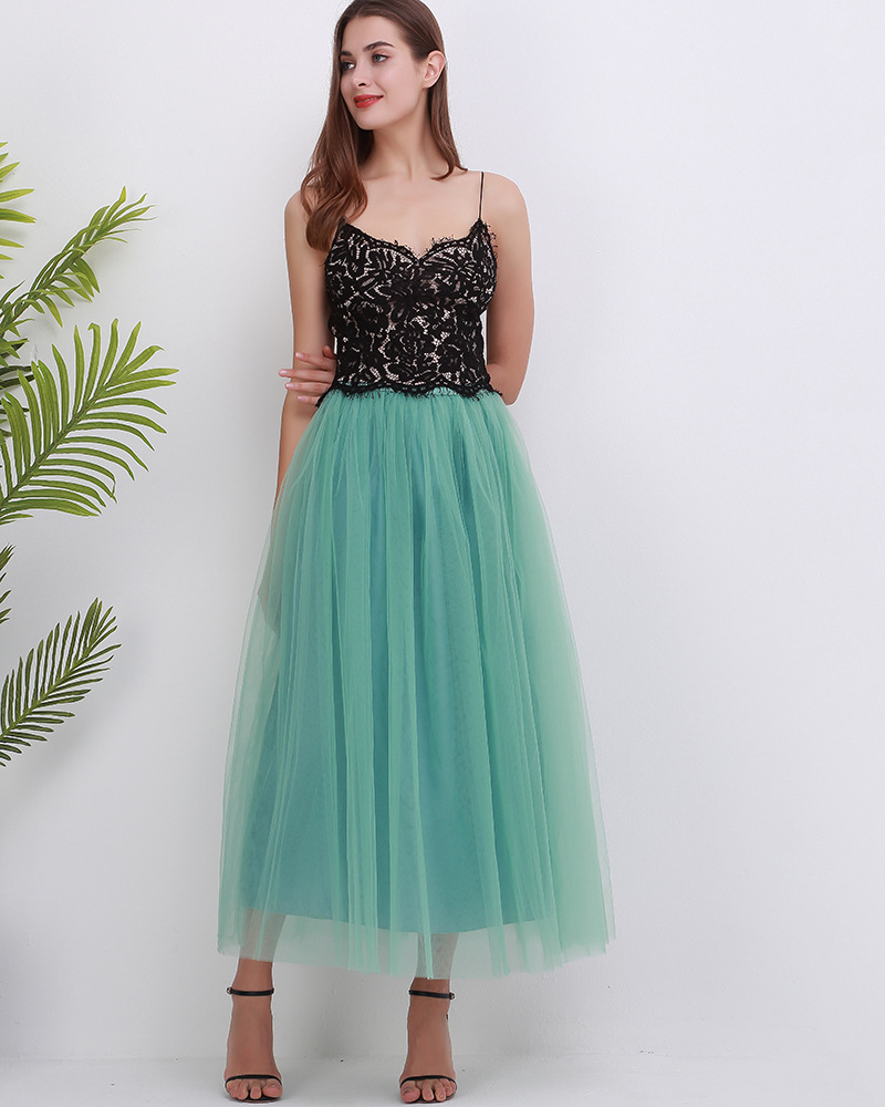 4 Layers 100cm Floor length Skirts for Women Elegant High Waist Pleated Tulle Skirt Bridesmaid Ball Gown Bridesmaid Clothing 30
