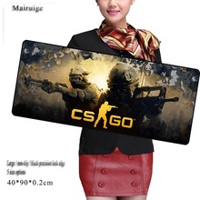 Mairuige CS Go 900*400mm Locking Edge Large Gaming Mouse Pad Mouse Mats Pad for PC Computer