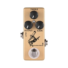 MOSKY Horse Guitar Effect Pedal Overdrive Guitar Pedal Full Metal Shell True Bypass Guitar Parts & Accessories nux pt 6 chromatic pedal tuner with metal casing true bypass guitar accessories music instrument