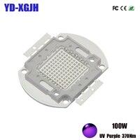 High Power LED Chip 3W 5W 10W 20W 30W 50W 100W Ultraviolet SMD LED Chips for 370 375nm 3 5 10 20 30 50 100 W Watt