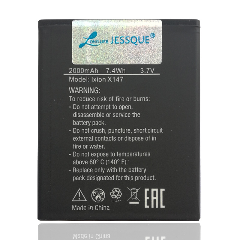 Genuine 2000mAh Battery For DEXP Ixion x147 x 147 Bateria Batterie AKKU Accumulator ACCU