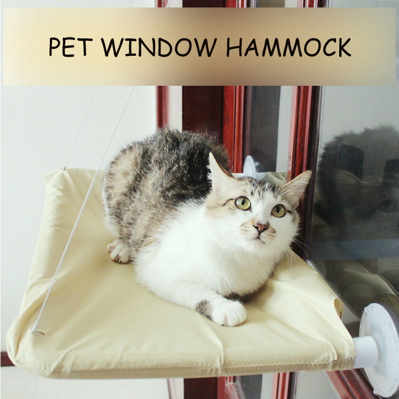 New Window Pet Bed Cat Furniture Bed Funny Hammock Single Scratching Board For Cat Jumping Playing Training Cat Tool Toys  Hpc08 #2