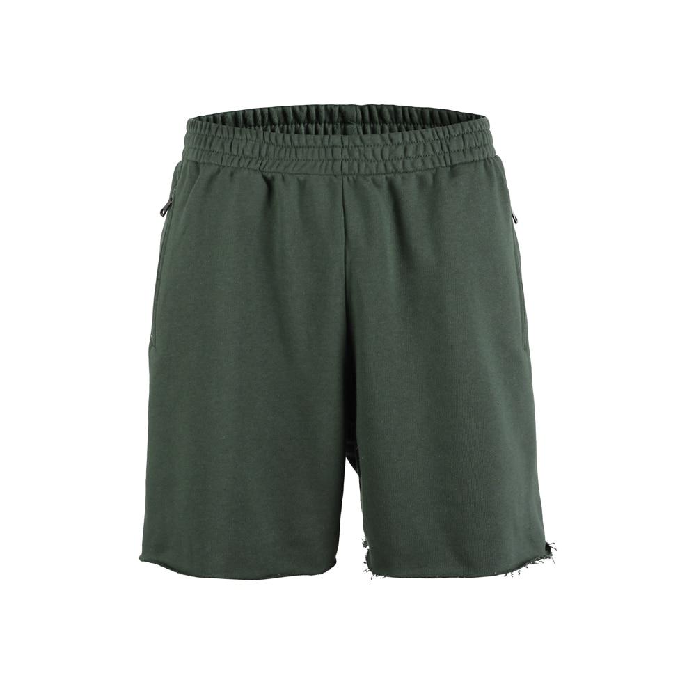 2019 Summer High Street Men's Solid Colour  Shorts Casual Waist Trousers Vintage Shorts  Hip Hop Style Cool Skateboard Khaki