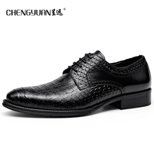 Mens luxurious real leather-based males formal gown sneakers snake sample black lace up Shoe flat Wedding leather-based  Shoes