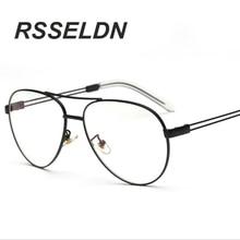 Clear Lens Glasses Women Gold Eyewear Frame Men Eyeglasses Oval Spectacle Frame Reading Glasses Frames