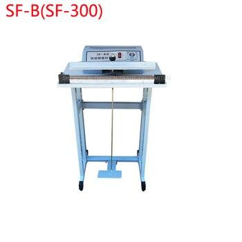 1PC  Pedal impulse sealer SF-B(SF-300 )packing machine with shelf