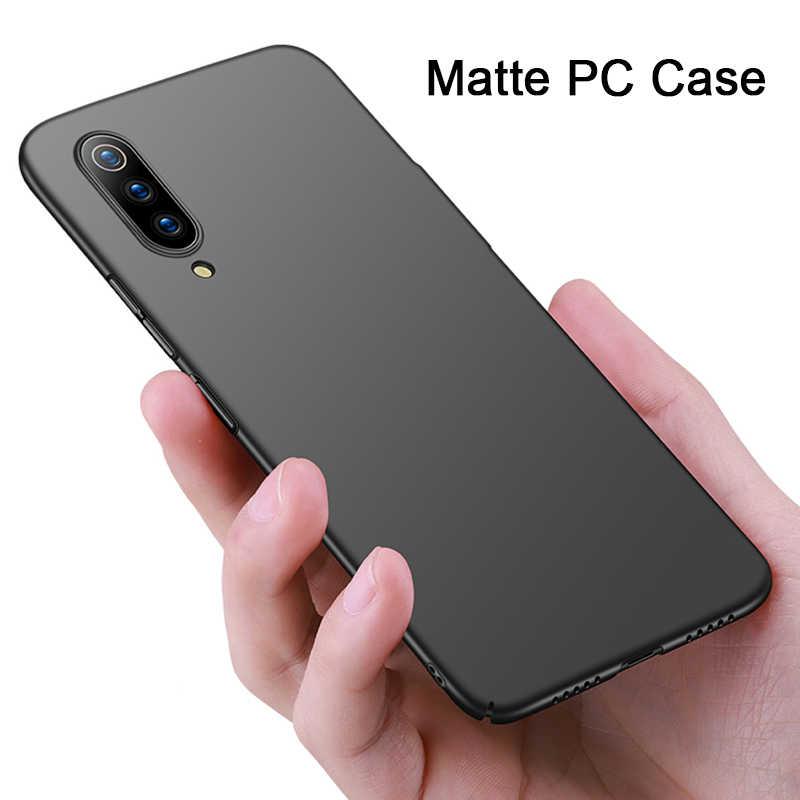 平野電話ケースシャオ mi mi 9 SE 8 Lite 9T プロ 6 5S プラス 5 マットハード PC 超薄型ケースシャオ mi mi A2 Lite A1
