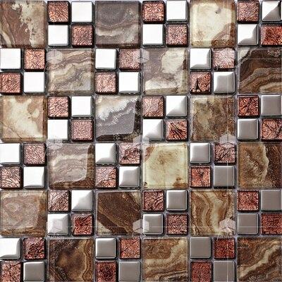 Bunte Kristallglas Gemischt überzug Metall Mosaik Fliesen EHGM1024E Für  Küche Backsplash Fliesen Badezimmer Mosaik Fliesen Wand Abdeckung In Bunte  ...