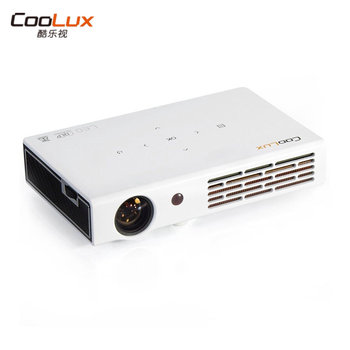 Coolux X5 Portable DLP Android Projector,500 ANSI Lumens Full HD 1080p 3D WIFI Home Theater Projector Proyector Beamer