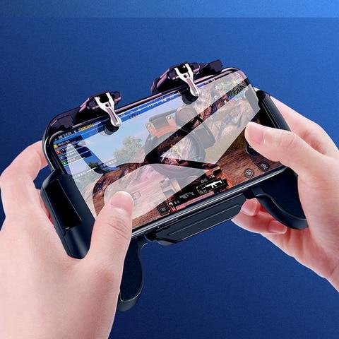 GamePad Pubg Controller Trigger Cooler Cooling Fire PUBG Mobile Game Controller Joystick Metal L1 R1 Trigger for IPhone Android Multan