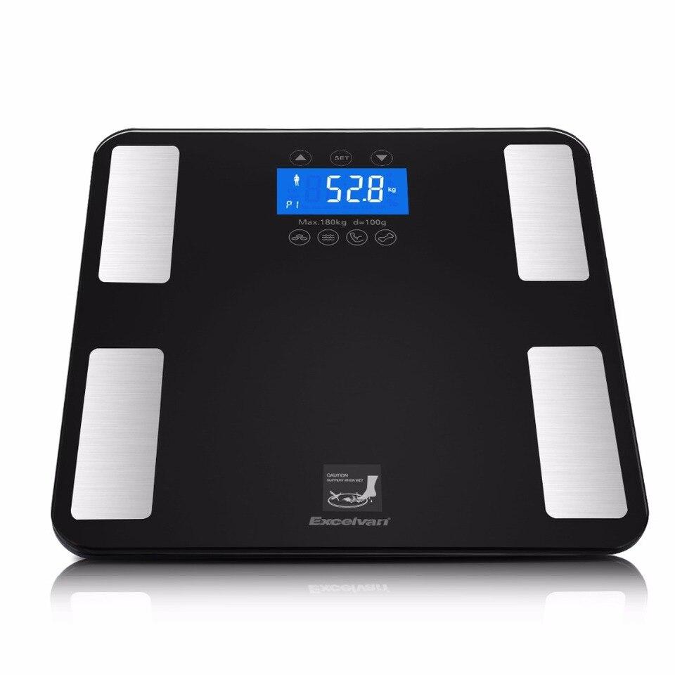 Digital Smart Body Fat Scale Measures