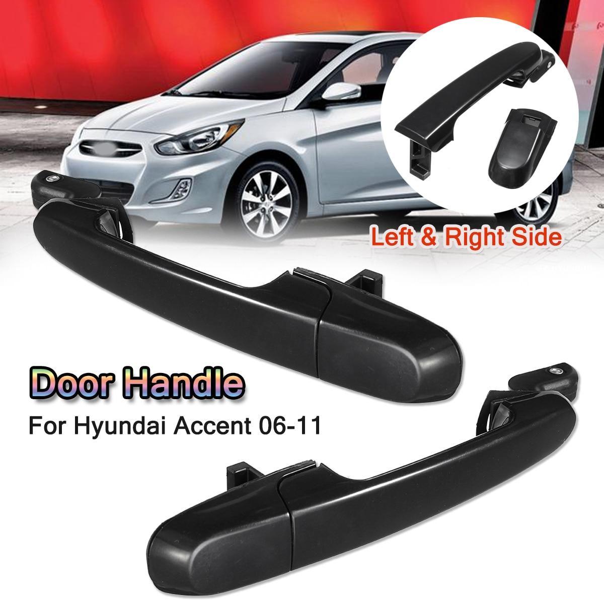 Hyundai Accent 1994-1999 Rear Left Door Outside Exterior Handle