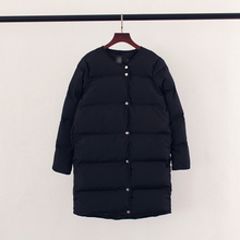 Nice New Long Winter Jacket Women Casual Thick Warm Female Coat Cotton Padded Down Women's Winter Jacket Europe Style AW1121