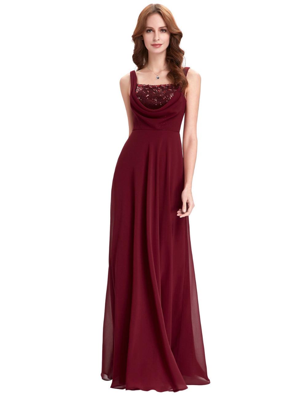 Cheap Burgundy Bridesmaid Dresses