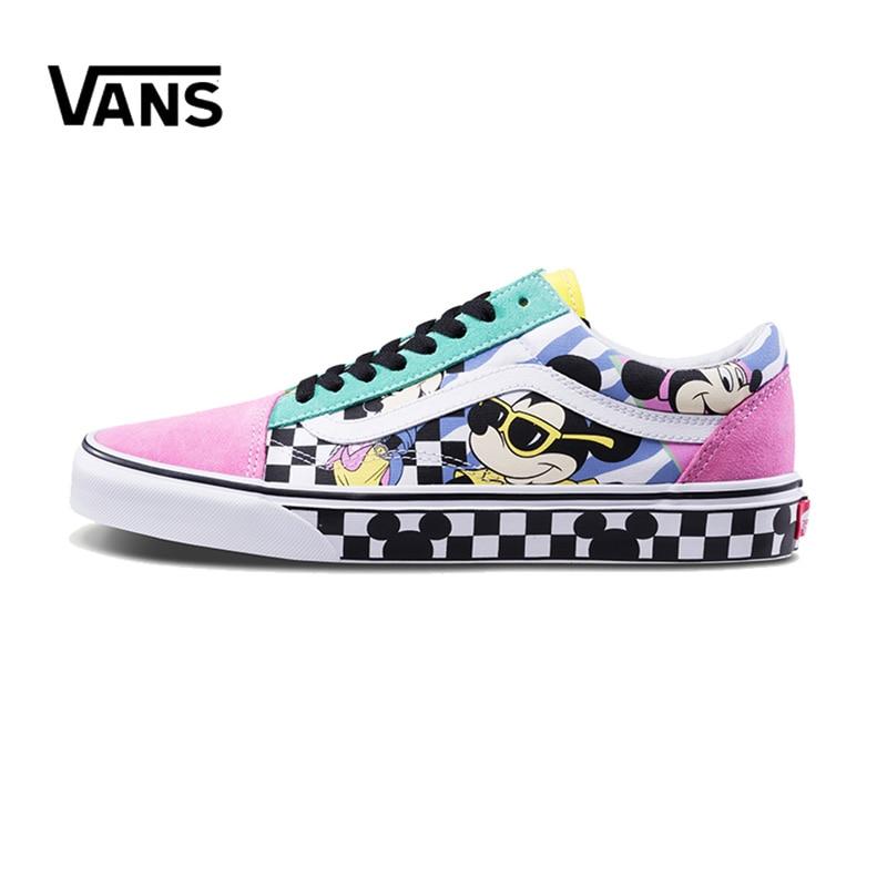 все цены на Original New Arrival Vans Men's & Women's Classic Old Skool Skateboarding Shoes Sneakers Canvas Comfortable VN0A38G1UJE